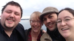 Curtis, Linda, Jonathan, Miiyo of sound|counterpoint