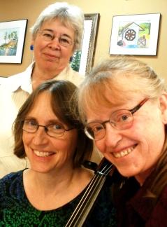 Linda, Olga, and Laura 2015