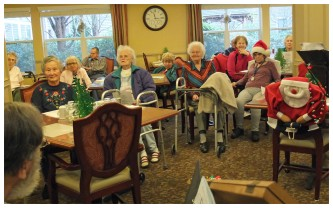 Christmas at Emeritus Spring Estates 2012