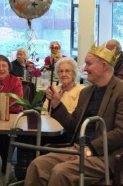 King for a day at Merrill Gardens-Northgate