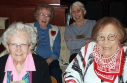 Lovely Ladies at University House in Wallingford
