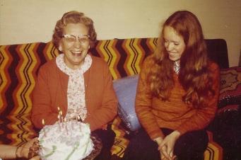 Grams and Linda BDAY