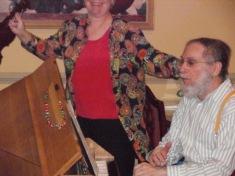 Fred & Olga Hauptman Dec 2012 Emeritus at Spring Estates