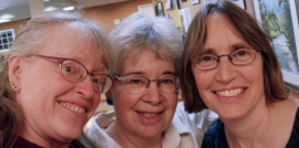 Linda, Olga, Laura--Salish Sea Players