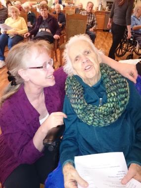 Linda and Cora Dec 30 2015