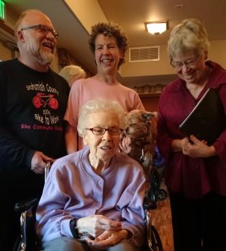 Olga, Elsebeth and family Dec 30 2015